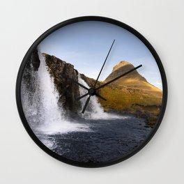 Kirkjufell I Wall Clock