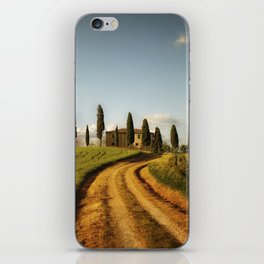 Cypresses of Toskany iPhone Skin