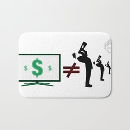 Money cant buy you Love, or an election. Bath Mat