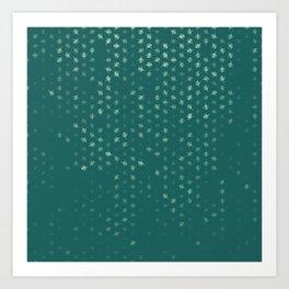 leo zodiac sign pattern tw Art Print