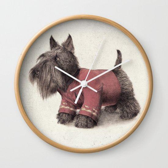 Scotty Wall Clock