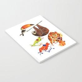 Rainforest animals 2 Notebook