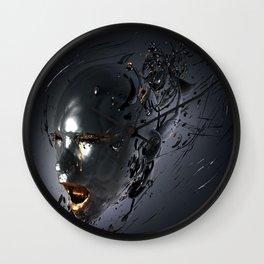 Inhale Wall Clock