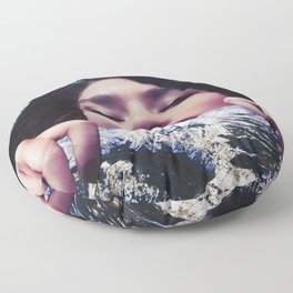 Hold Your Head Up Floor Pillow