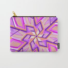 Geometric Mandala Carry-All Pouch