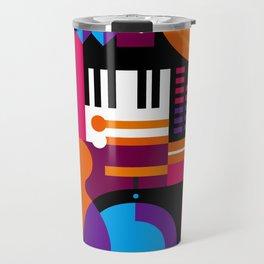 Music Mosaic Travel Mug