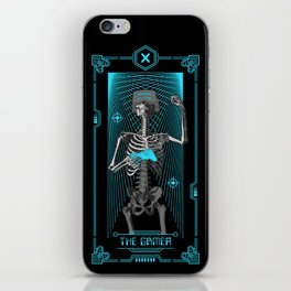 The Gamer X Tarot Card iPhone Skin