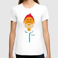 steve zissou T-shirts featuring Steve Zissou by Marco Recuero