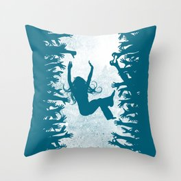 Labyrinth: Helping Hands Throw Pillow