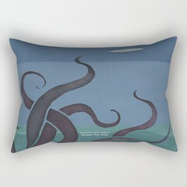 Jules Verne's Twenty Thousand Leagues Under the Sea - Minimalist literary design, literary gift Rectangular Pillow