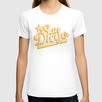 san diego T-shirts featuring San Diego by GetSolidGold