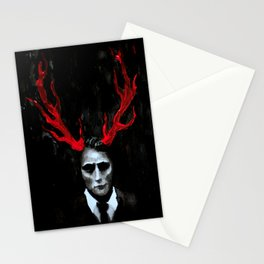 Hannibal Lecter Portrait Stationery Cards