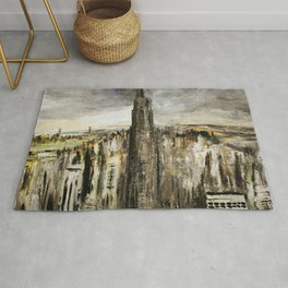 New York Empire State Building Rug