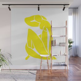 Yellow Nude Matisse Wall Mural