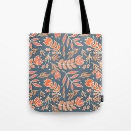 Loquacious Floral Tote Bag