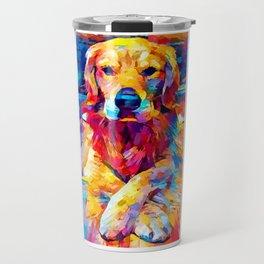 Golden Retriever 6 Travel Mug