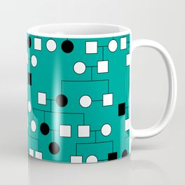 Pedigree Analysis - Autosomal Recessive Coffee Mug