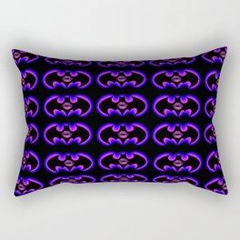 The Violet Cat 9 Lives Rectangular Pillow