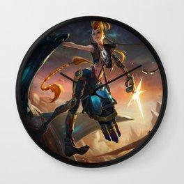 Odyssey Jinx League Of Legends Wall Clock