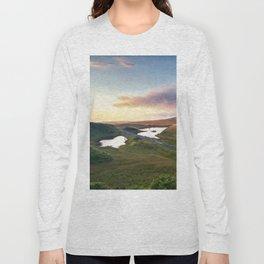 Vanishing Lakes,Ireland,Northern Ireland,Ballycastle Long Sleeve T-shirt