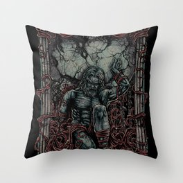 atlas shrugged - ayn rand Throw Pillow