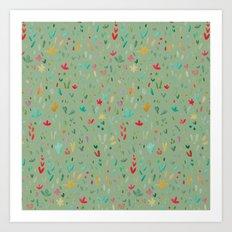 Small Floral  Art Print