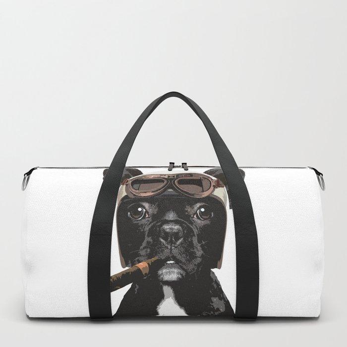 French bulldog Patrol Duffle Bag