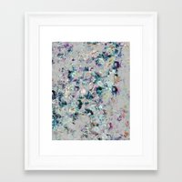 mineral Framed Art Prints featuring Mineral by Georgiana Paraschiv