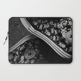 All Star and Skulls Laptop Sleeve