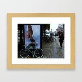 shape sensation Framed Art Print