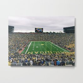 Viva la Harbaugh Metal Print