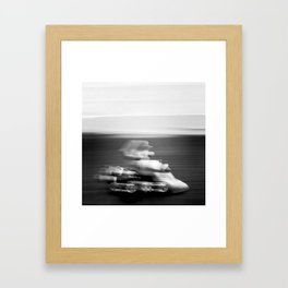 Do you even drift bro? Framed Art Print