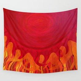 The Sun Has Already Risen Wall Tapestry