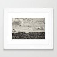 illusion Framed Art Prints featuring Illusion by Sébastien BOUVIER