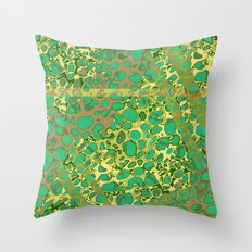 Vibrant Sponges 6.0 Throw Pillow