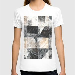 Neutral Colors Collage T-shirt