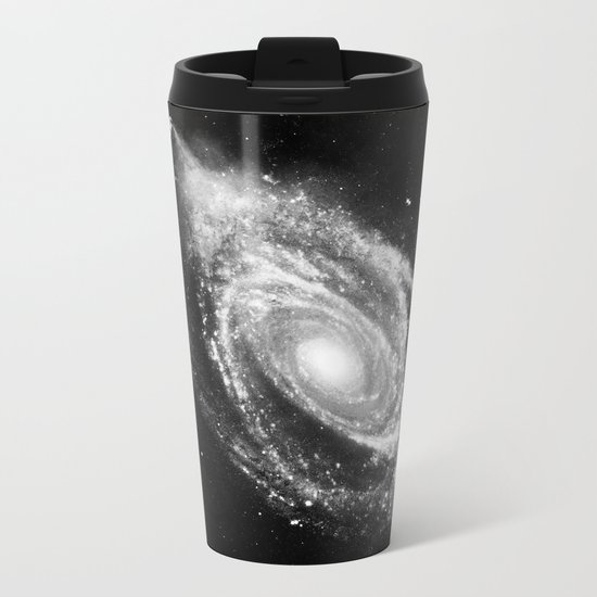 Space Art Metal Travel Mug
