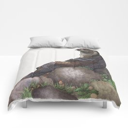 The Majestic Otter Comforters