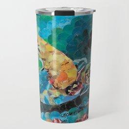""""""" Sea Turtle Hole Punch """" Travel Mug"""