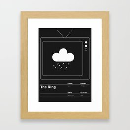 The Ring Framed Art Print