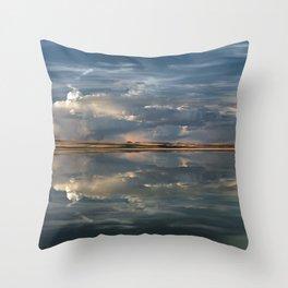 Lake Abert Throw Pillow