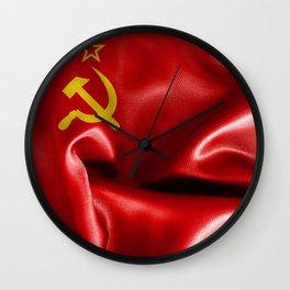 Soviet Union Flag Wall Clock