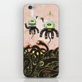 Over the Dragon sea iPhone Skin