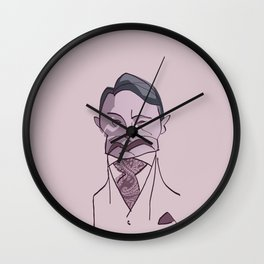 "MADS MIKKELSEN as ""HANNIBAL"" Wall Clock"