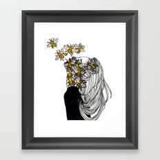 The Arrival of the Bee Box Framed Art Print