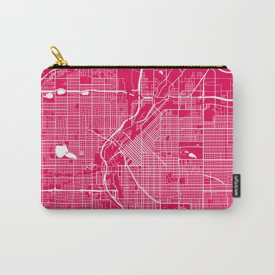 Denver map raspberrry Carry-All Pouch