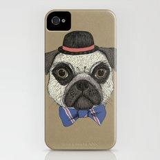 Mr Pug Slim Case iPhone (4, 4s)