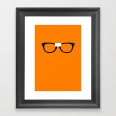 Alex Vause Glasses OITNB Framed Art Print