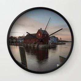 Motif #1 Wall Clock
