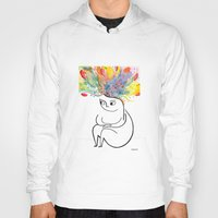 rubyetc Hoodies featuring inside and out by rubyetc